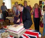 WINSLEY CELEBRATES THE QUEEN'S 90TH BIRTHDAY, COURTESY OF THE VILLAGE HALL MANAGEMENT COMMITTEE: SATURDAY 4 JUNE 2016 Photos by Bob Williams