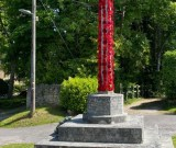 Memorial with Wreaths