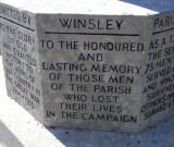 Winsley War Memorial - Renovated July 2014 Photography - John Barnes